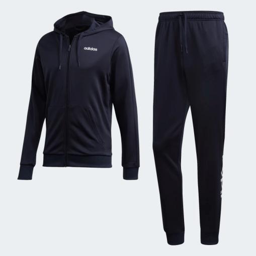 Agasalho Masculino Adidas Linear French Terry Dv2450