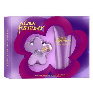 Agatha Ruiz de La Prada Crazy Florever Kit - Eau de Toilette + Loção Corporal Kit