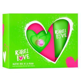 Agatha Ruiz de La Prada Rebel Love Kit - Perfume + Body Lotion Kit