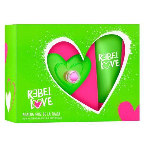 Agatha Ruiz de La Prada Rebel Love Kit - Perfume Edt + Body Lotion