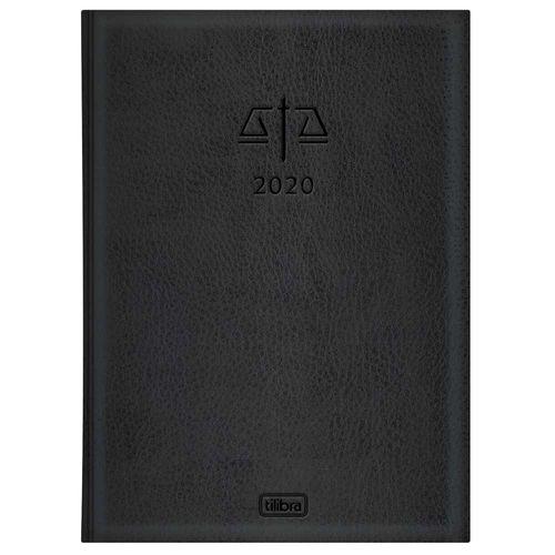Agenda 2020 Tilibra Executiva Advogado Preta 131267