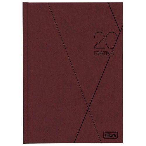 Agenda 2020 Tilibra Prátika Bordô 1028848