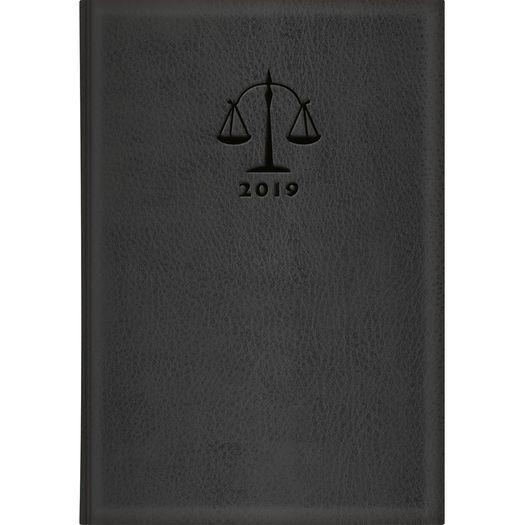 Agenda 2019 Executivo Advogado Couro 12398 M6 4p Tilibra