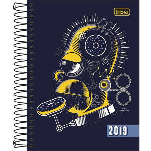Agenda 2019 The Simpsons M4 Esp 15201 5p Tilibra