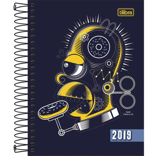 Agenda 2019 The Simpsons M4 Esp 152013 5p Tilibra