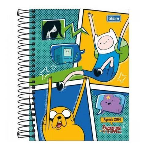 Agenda 2019 Tilibra Adventure Time 176 Folhas
