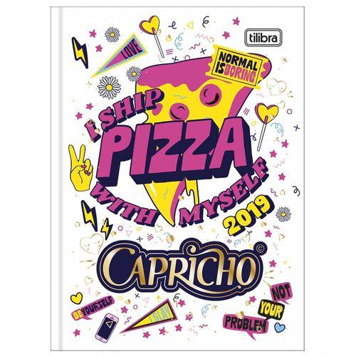 Agenda 2019 Tilibra Capricho Petit Pizza 1014373