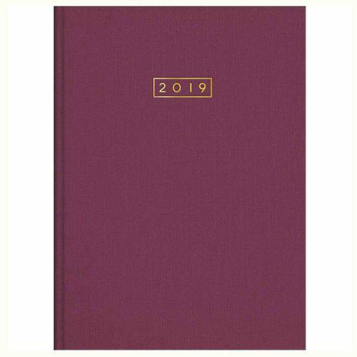 Agenda 2019 Tilibra Executivo Lume Vinho