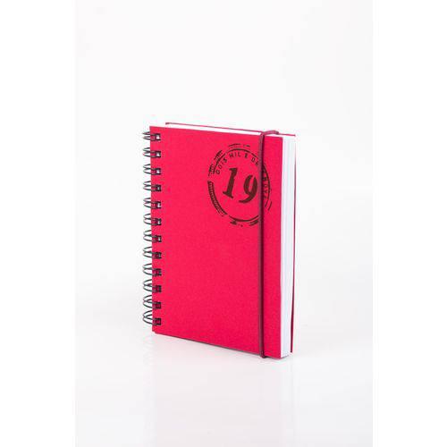 Agenda - Colors W - Vermelha - Diária Pequena 2019