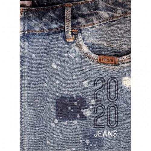 Agenda Costurada 2 Dias por Página Jeans 2020 - Sortido