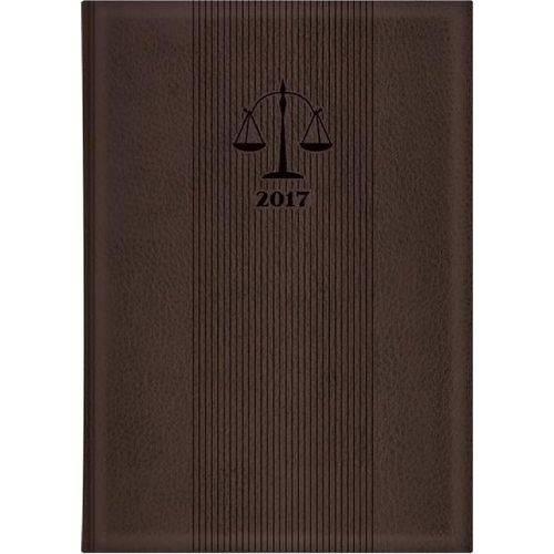 Agenda Diaria Executiva Advogado Costurada Preta 2019 Tilibra