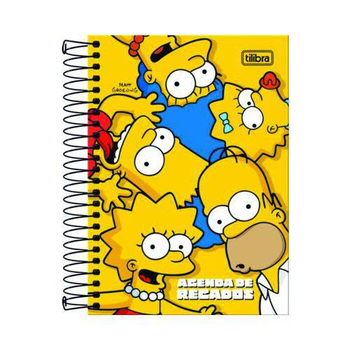 Agenda Espiral de Recados M5 Simpsons - Tilibra