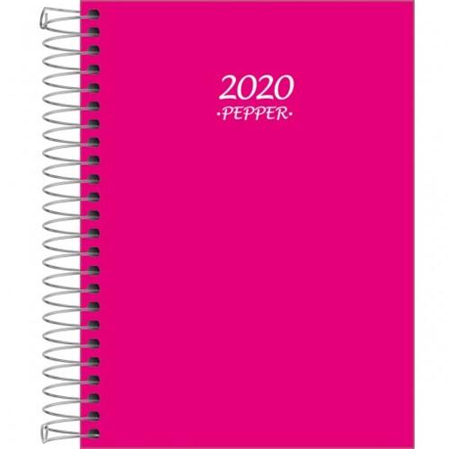 Agenda Espiral Diária Pepper Rosa 2020