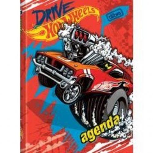 Agenda Hot Wheels Escolar 96f Tilibra