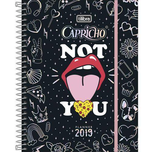 Agenda Planner Capricho - 80fls (17,7x24cm) M7 - Tilibra