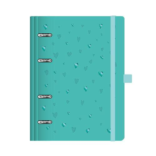 Agenda Planner Ótima Gráfica MAXI Verde + 01 Roll Note