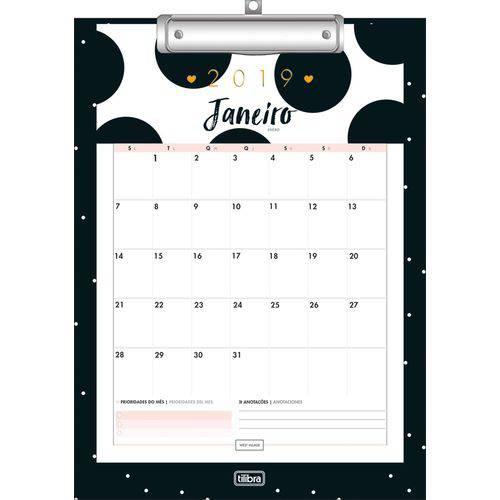 Agenda Tilibra 2019 WEST Village Calendario Planner