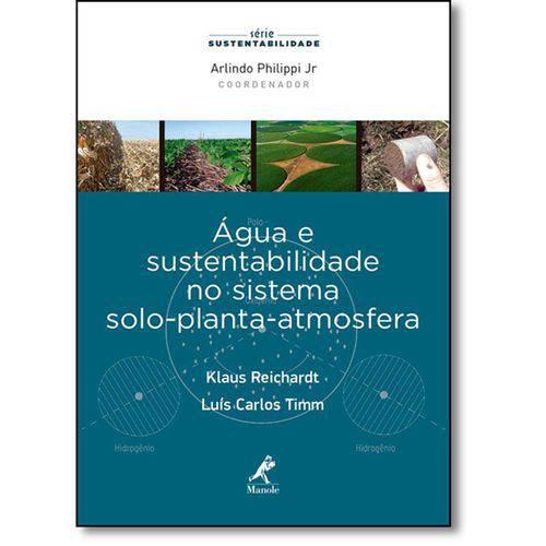 Água e Sustentabilidade no Sistema Solo-Planta-Atmosfera
