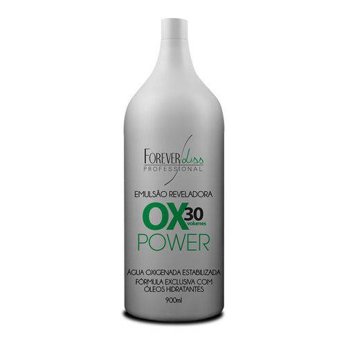 Água Oxigenada 30 Volumes Power Forever Liss 900ml