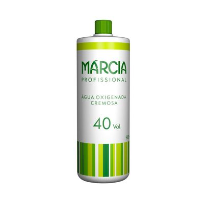 Água Oxigenada Cremosa 40 Vol 900ml - Márcia