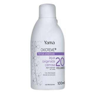 Água Oxigenada Cremosa Yamá - Oxicreme 20 Volumes 100ml