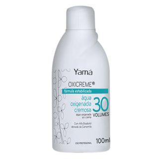 Água Oxigenada Cremosa Yamá - Oxicreme 30 Volumes 100ml