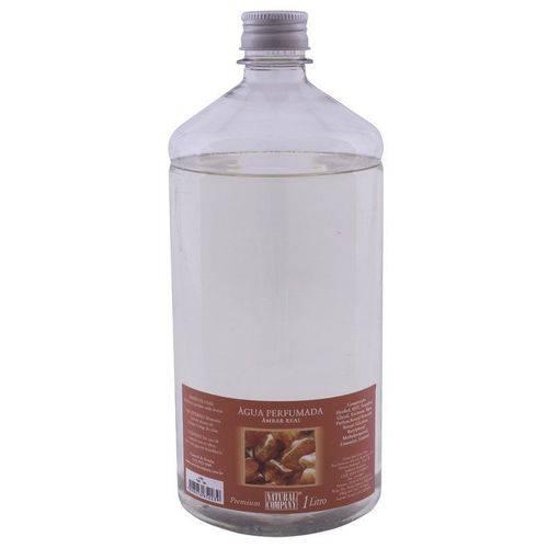 Água Perfumada Âmbar Real 1 Litro Frasco Inquebrável