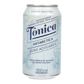 Água Tônica Antarctica Zero Açúcares 350mL