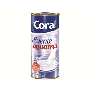 Aguarras 0,9lts Coral