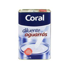 Aguarras 5lts Coral