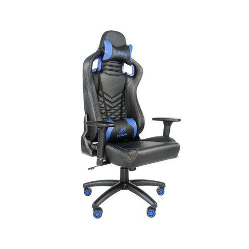 Akasa Venom Gaming Sgc-10 Black/Blue - A-Gch-01bl