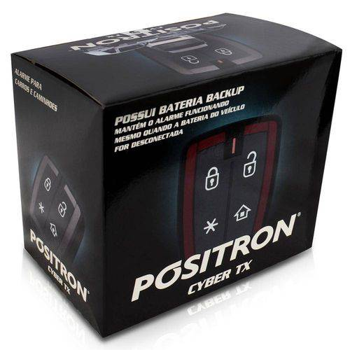 Alarme Automotivo Cyber TX 2009 - Pósitron