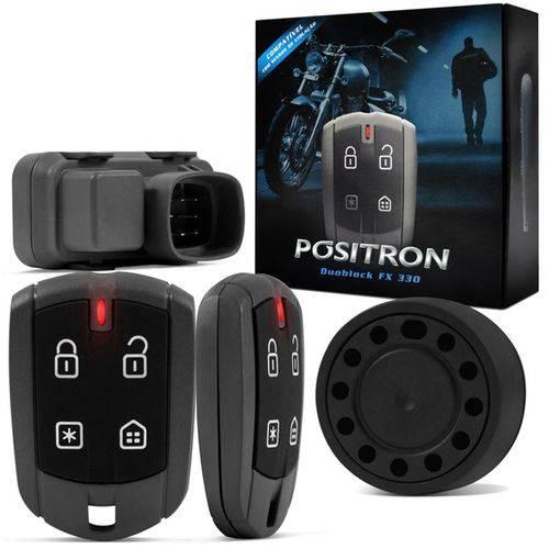 Alarme Moto Positron FX G7 NXR 150 Bros 2010 em Diante com Chicote Dedicado