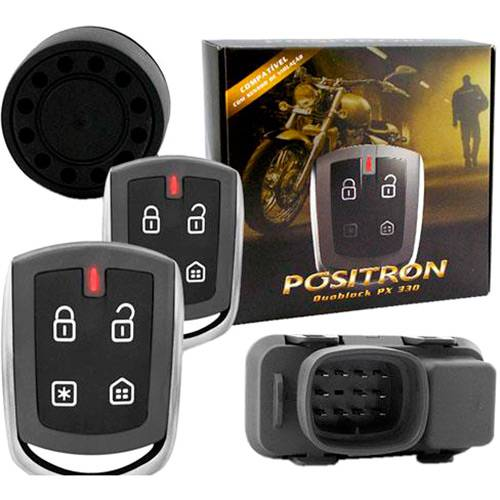 Alarme para Motos Duoblock Px G7 Universal - Pósitron