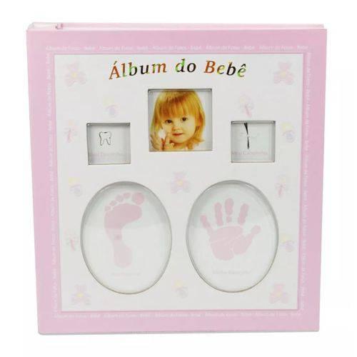 Álbum Bebê com Caixa 60 Fotos 15x21