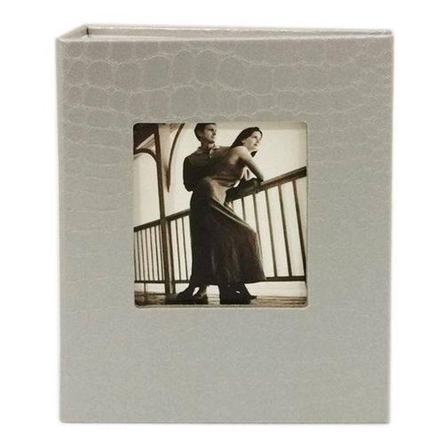 Álbum Fotográfico Courino Prata para 100 Fotos 10x15