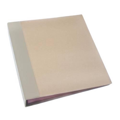 Álbum P/Scrapbook Momentos 22x24cm Marfim e Kraft Asm001 - Toke e Crie