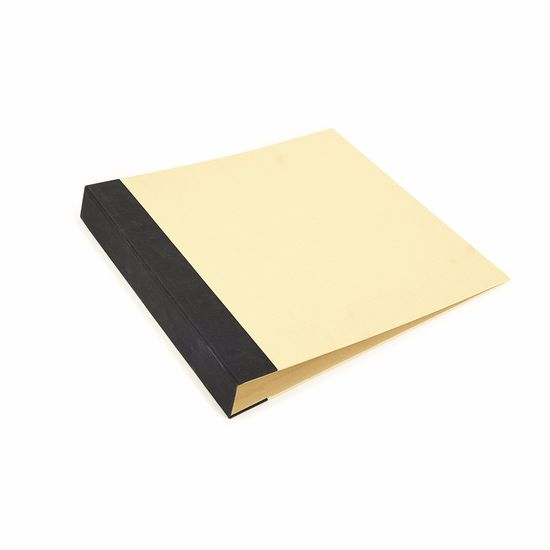 Álbum P/ Scrapbook Toke e Crie AS037 37x38,5x5cm Preto e Kraft