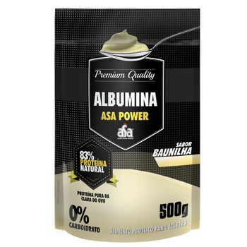 Albumina 83% Baunilha 500g - ASA Power