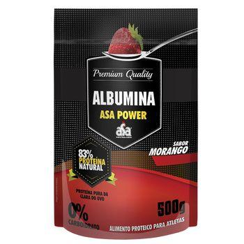 Albumina 83% Morango 500g - ASA Power