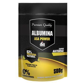 Albumina 83% Natural 500g - ASA Power