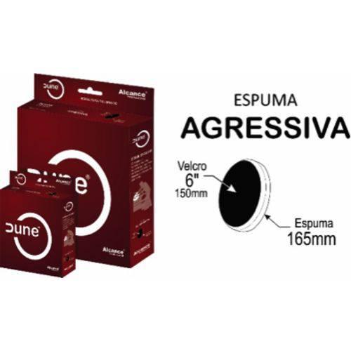 "Alcance - Boina de Espuma Dune - Agressiva - 85mm (3,4"")"