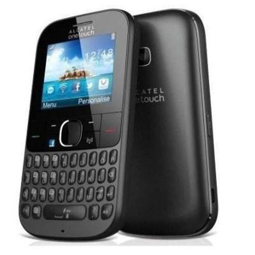 Alcatel Onetouch 3075 - Desbloqueado, 3g, Wi-fi, Preto, Novo