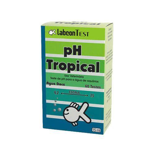 Alcon Labcon Teste Ph Tropical Água Doce 15ml