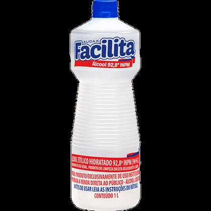 Álcool 92.8 para Limpeza 1 Litro Audax Facilita