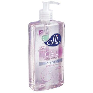 Álcool Gel Hi Clean Extrato de Rosas 500ml