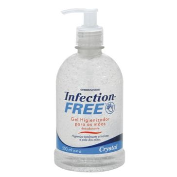 Álcool Gel Infection Free Crystal 500ml