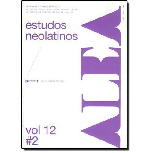 Alea - Estudos Neolatinos - Vol.12 - N.2
