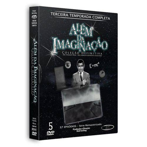 Além da Imaginação - Quarta Temporada 5 Discos
