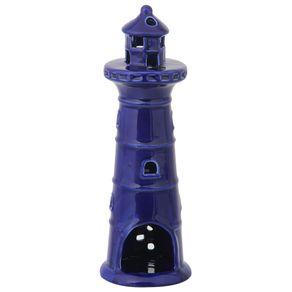 Alexandria Farol Adorno 24 Cm Azul